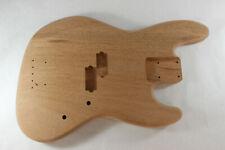Unfinished Mahogany Jazz P bass guitar body - fits Fender necks J120