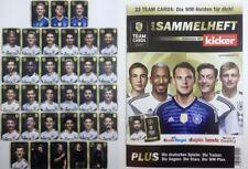 Ferrero dfb Team cards WM 2018 todos los 32 tarjetas de colección + álbum completo