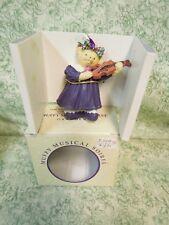 """mb-65 N.A.B. Co:MuffyvanderBear Ornament: """"Muffy Musical Soiree"""""""