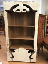solid wood display unit , shabby chic cupboard