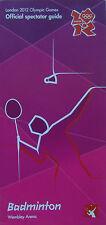 LONDON 2012 OLYMPIC GAMES MEMORABILIA - Mint Condition Badminton Spectator Guide