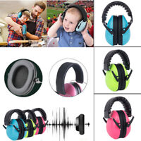 Kids Baby Safety Earmuffs Ear Hearing Protection Noise Cancelling Headphones NEW