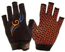 Optimum Stik Mit Tribal Rugby Gloves Black Blue Orange