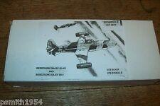 Pioneer 2 bereznjak isajev BI-1 Soviet Rocket Interceptor 1:72 scale kit
