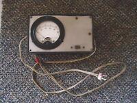 """Vintage Triplett Part No.R.E.L.12455 Volt ? / Amp ? Meter """" GREAT COLLECTIBLE """""""
