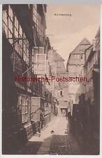 (98817) AK Alt Hamburg, Häuserzeile, vor 1945