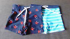 Marks and Spencer Bebé Chicos Nadar Pantalones Cortos integral de impresión de palma Pañales 0-3 BNWT