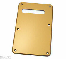 NEW BACKPLATE mirror GOLD stratocaster  pour guitare Fender