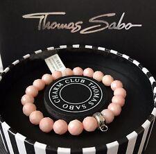 Original Thomas Sabo pulsera con dijes de coral de bambú 17.5 Cm Grande Nuevo En Caja