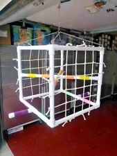 """20x20x20 3/4"""" Pvc """"Netted Cube """" Hanging Perch Stand *Free Shipping*"""