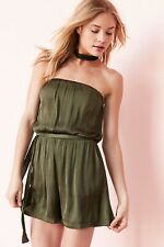 New Urban Outfitters Bardot Satin Strapless Romper size 8 MSRP: $89