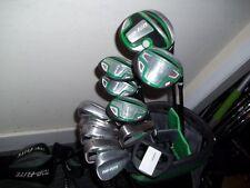 Top-Flite Gamer Irons, Hybrids Woods, Putter & Stand Bag Mens RH Golf Set - Used