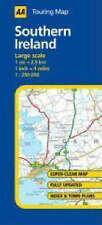 , AA Road Map Southern Ireland (AA Touring Map), Map, Very Good Book
