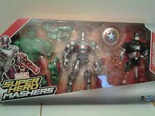 marvel super hero masters hulk, ultron, captain America sealed box