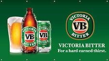 Victoria Bitter VB Beer PVC Vinyl Banner Flag Poster Sign 1000x1800mm Fast Post