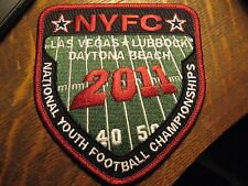 NYFC National Youth Football Championships 2011 Las Vegas Daytona Jacket Patch