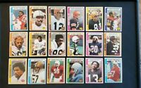 1978 Topps Football Lot Of 99 Cards All Different Ex-Nm Condition!