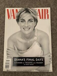 **PRINCESS DIANA LADY DI / ROYAL FAMILY UK VANITY FAIR MAGAZINE OCTOBER 1997**