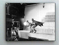 Rare Framed 1966 Batman and Robin Adam West Vintage Photo. Jumbo Giclée Print