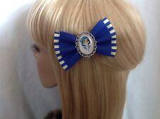 Sailor Mercury hair bow clip rockabilly pin up girl geek moon Venus blue mars