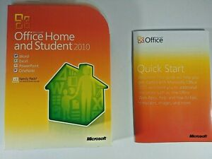 Genuine Microsoft Office Home and Student 2010 Disc for Windows - FREE SHIPPING