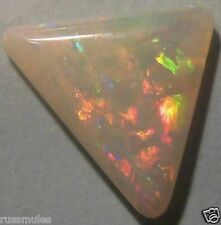SOLID OPAL CRYSTAL FROM AUSTRALIA 10.5x10.3x11.6x2.4mm 2.6ctw