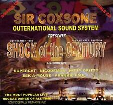 SIR COXSONE SHOCK OF THE CENTURY 1986  LIVE CD