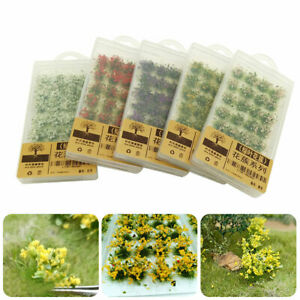 Flower Cluster Grass Tufts Sand Table Static Wargame Scenery Model Miniature