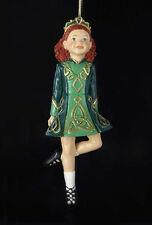 KURT S ADLER HANDPAINTED IRISH STEP DANCER IRISH DANCING GIRL CHRISTMAS ORNAMENT