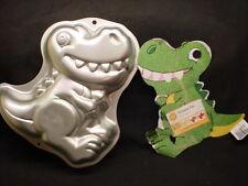 Wilton DINOSAUR BIG TEETH SMILE cake pan REPTILE bake mold tin INSERT 2105-1022