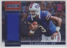 2013 Rookies and Stars Longevity Parallel #208 EJ Manuel Jersey RC 176/299