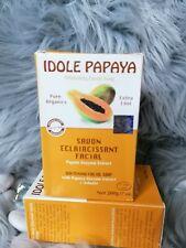 3x Idole whitening Exfoliating Soap With papaya, enzyme and Arbutin 💯 ORIGINAL