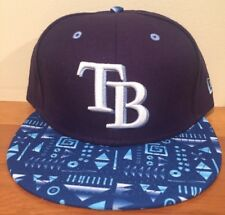 Tampa Bay Devil Rays New Era 59FIFTY Geo Hat Cap MLB Sz 7 1/4  Fitted