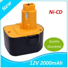 Batterie pour DC9071 DE9037 DE9071 DE9074 DE9075 DE9501 DW9071 DW9072 200mah 12v