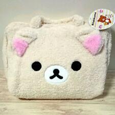 Korilakkuma Square Bag Face style Fluffy Prize San-x Kawaii New Japan