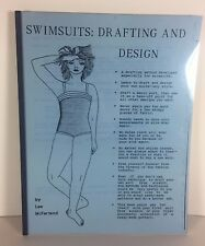 Swimsuits : Drafting and Design by Lee J. McFarland 1989 Paperback - How To VTG
