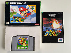 Nintendo 64 - Super Mario 64 - PAL CIB - Boxed Complete - N64 - Excellent Game!
