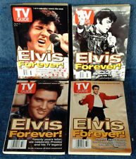 ELVIS PRESLEY - TV GUIDE - ALL (4) COLLECTORS COVERS - AUGUST 16TH, 1997