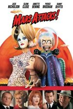 Mars Attacks! Vhs 1996 Jack Nicholson Tim Burton Alien Invasion Excellent Play!