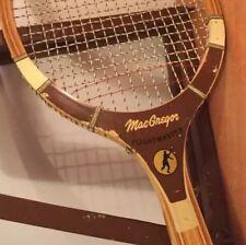 Macgregor Tennis Racquet Vtg racket 1 wood wooden  FLIGHT MASTER RARE collectors