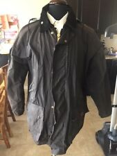 VINTAGE OUTDOOR WEAR BY OXFORD DARK BROWN JACKET SIZE MEDIUM