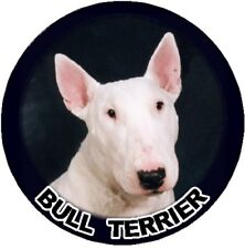 2 Bull Terrier Car Stickers By Starprint