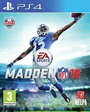 MADDEN NFL 16 2016 PS4 NUEVO PRECINTADO PS4
