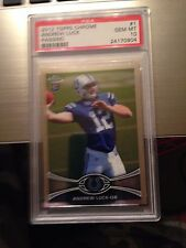 Andrew Luck Topps Chrome #1 PSA 10 Rookie Card