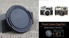 Camera Lens cap for Minolta HI-Matic E 7SII Camera Lens Rokkor-QF 40mm 1:1.7