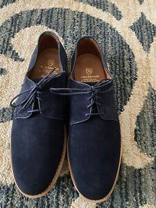 Allen Edmonds Nomad Navy blue suede shoes/10D NEW w/O box Navy blue