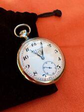 H. Moser. Vintage Pocket Watch. Based Caliber Landeron 2124.