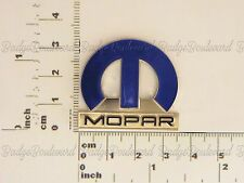 Chrysler Dogde Valint 300c Blue Mopar M Lapel Pin Badge