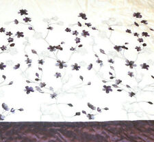 Lovely Flower Comforter Full/Queen Purple & Off White Bed Bath & Beyond Store
