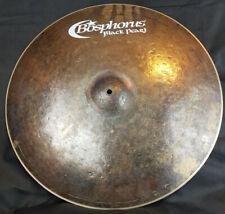 """Bosphorus Black Pearl 21"""" Ride Crash pélvico 1711g feria mercancía Cymbal piatto Cymbal"""